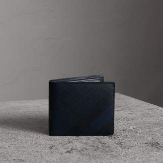 Burberry Check International Bifold Coin Wallet