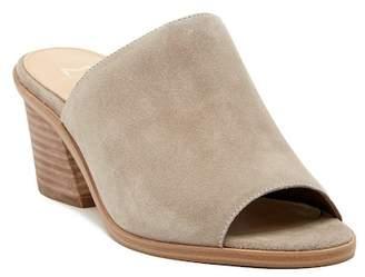 Marc Fisher Milan Block Heel Mule Sandal