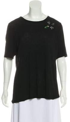 Tory Burch Wool-Blend T-Shirt