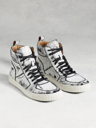 Bedford High Top Sneaker $248 thestylecure.com