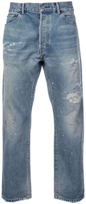 John Elliott Painter Repair straight jeans