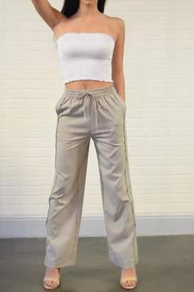 Alythea Grey Drawstring Pants