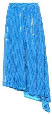 MSGM Sequinned skirt
