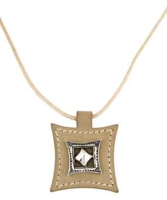 BEIGE Hermà ̈s Touareg Pendant Necklace Hermà ̈s Touareg Pendant Necklace