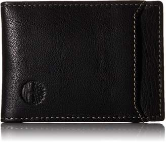 Timberland Men's Blix Minimalist Slim Money Clip Wallet