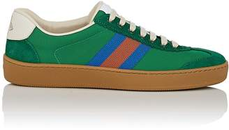 Gucci Women's Canvas & Suede Sneakers