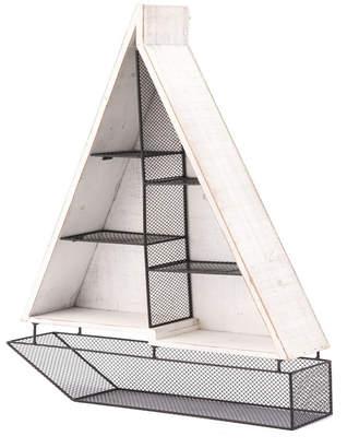 ZUO Boat Shelf White