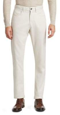 Saks Fifth Avenue COLLECTION Cotton Trousers