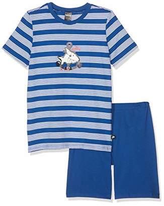 Schiesser Boy's Capt ́n Sharky Kn Anzug Kurz Pyjama Set,(Size: 0)