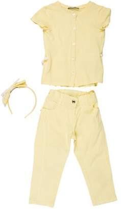 Ermanno Scervino Girls' Embroidered Pants Set