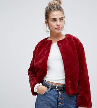 Pimkie short faux fur jacket