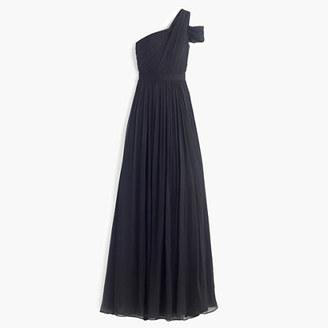 Cara long dress in silk chiffon $298 thestylecure.com