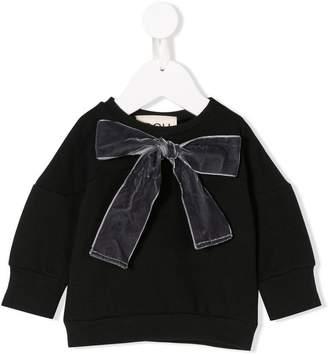 Douuod Kids bow detail sweatshirt