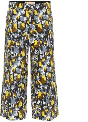 Marni Cropped cotton trousers