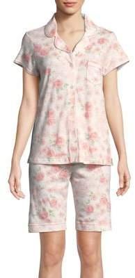 Miss Elaine Two-Piece Bermuda Pajama Set