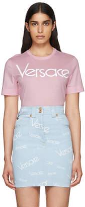 Versace Pink Logo T-Shirt