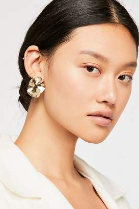 Waves Oversized Stud Earrings