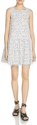 Maje Reflet Embroidered Dress $545 thestylecure.com