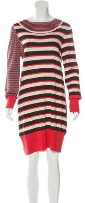 Marc by Marc Jacobs Striped Wool Dress $180 thestylecure.com