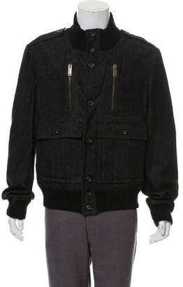 Gucci Denim Button-Up Jacket