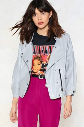 Nasty Gal Hello Moto Faux Leather Jacket