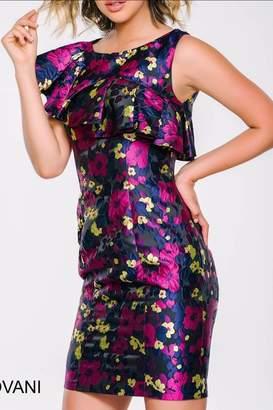 Jovani Floral Dress