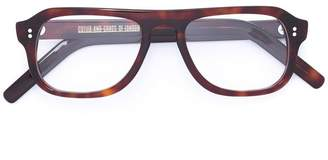 Cutler & Gross tortoiseshell square glasses