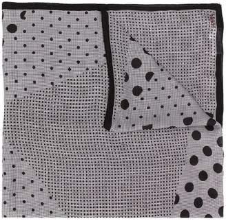 Loewe dot check scarf