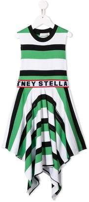 Stella McCartney striped logo dress