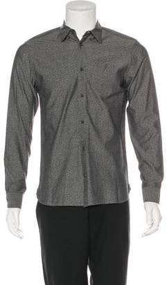 AllSaints Printed Woven Shirt