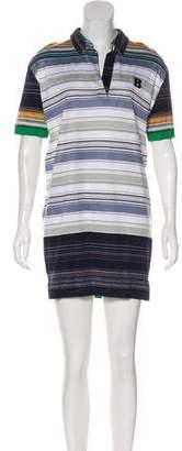 Balenciaga Striped Polo Dress