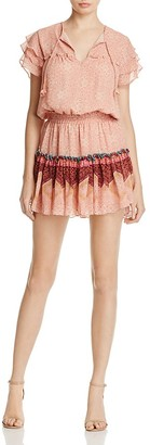MISA Los Angeles Suri Ruffle Sleeve Dress $264 thestylecure.com