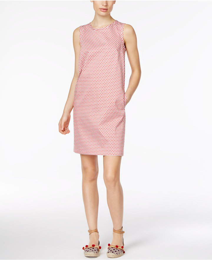 Max Mara Weekend Max Mara Sansone Printed Shift Dress