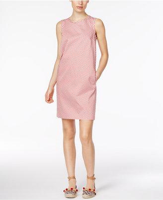 Weekend Max Mara Sansone Printed Shift Dress $293 thestylecure.com