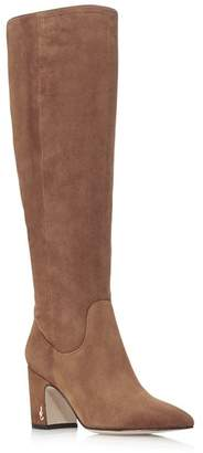 Sam Edelman Women's Hai Suede Tall Boots - 100% Exclusive