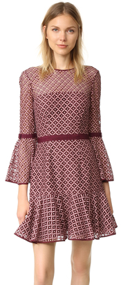 Cinq a Sept Cosette Lace Dress $445 thestylecure.com