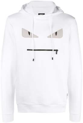 Fendi embellished Bag Bugs hoodie
