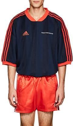 Gosha Rubchinskiy X adidas Men's Logo Striped Oversized Jersey