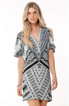 Hale Bob Viveca Cold Shoulder Dress