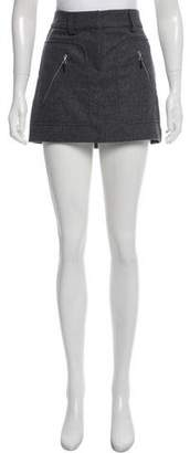 Brunello Cucinelli Virgin Wool Mini Skirt