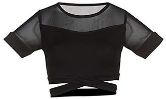 Soffe Junior's Juniors Crop Dance Top