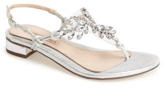 Women's Menbur 'Delia' Crystal Thong Sandal $120.95 thestylecure.com
