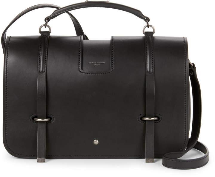 40b2abed4d Saint Laurent Black Charlotte Large Messenger Bag