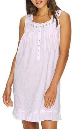 Eileen West Embroidered Floral Woven Lawn Chemise