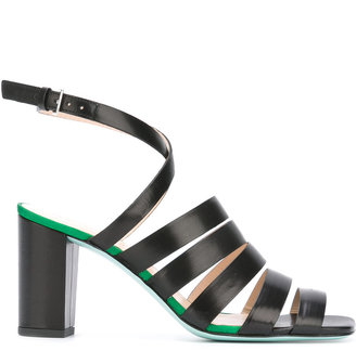 Ps By Paul Smith strappy block heel sandals $450 thestylecure.com