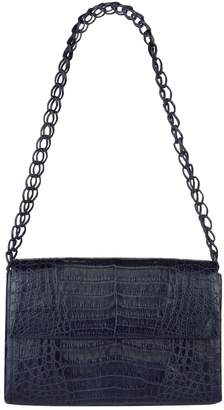 Nancy Gonzalez Medium Double Chain Crocodile Bag