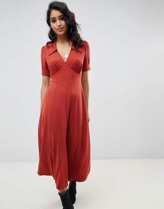Asos Design DESIGN midi tea dress