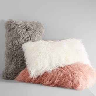 west elm Mongolian Lamb Pillow Covers - Lumbar