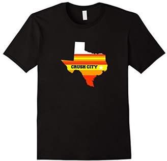 Crush City Houston Texas TX T-Shirt