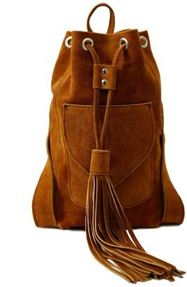 Zwina Habibi - Baby Backpack In Cowboy Brown